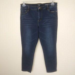 bebe Plus Size 32 Heartbreaker Skinny Leggings